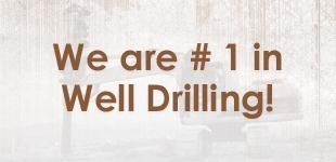 We are # 1 in Well Drilling!